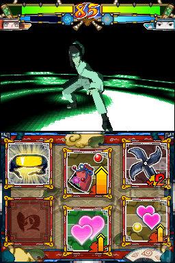 back to game screens naruto ninja destiny 2 european version ds