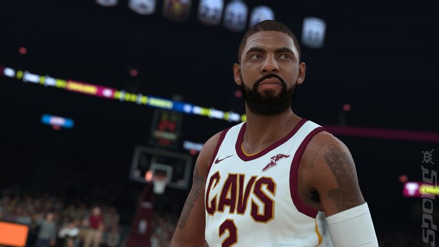 NBA 2K18 - PS3 Screen