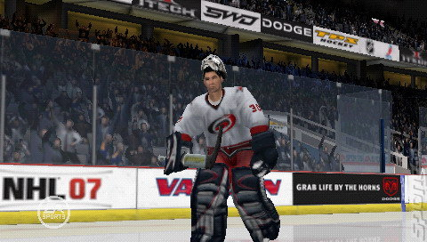 NHL 07 - PSP Screen