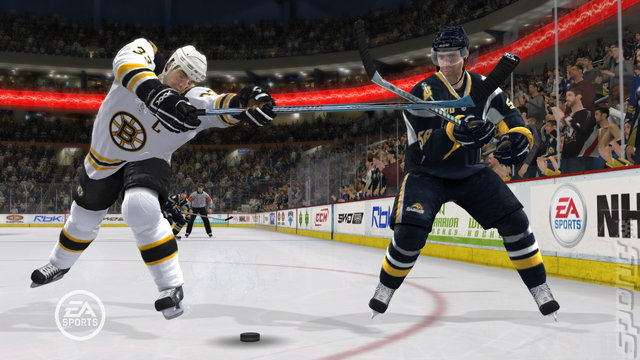 NHL 09 - PS3 Screen