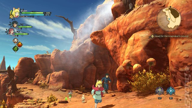 Ni No Kuni II: REVENANT KINGDOM - PC Screen