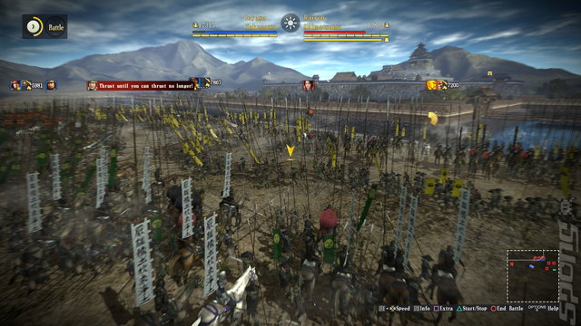 Nobunaga's Ambition: Sphere of Influence - PS4 Screen