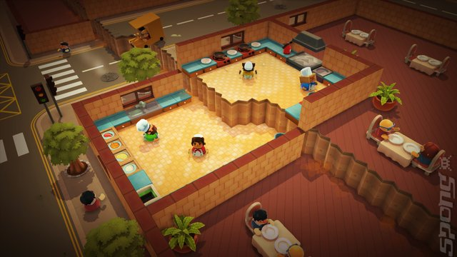Overcooked - PS4 Screen