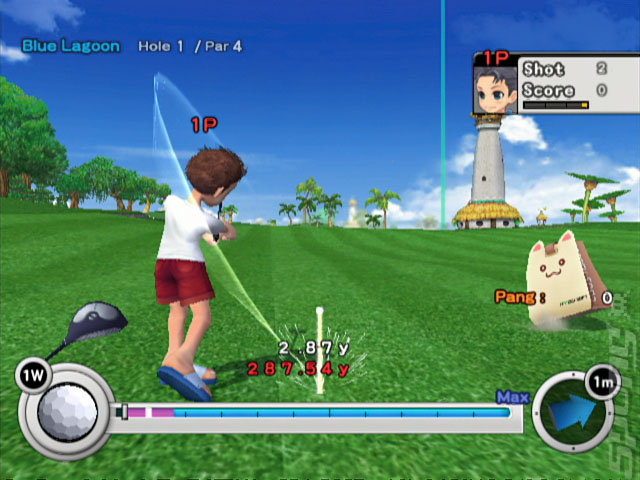 Pangya! Golf with Style - Wii Screen