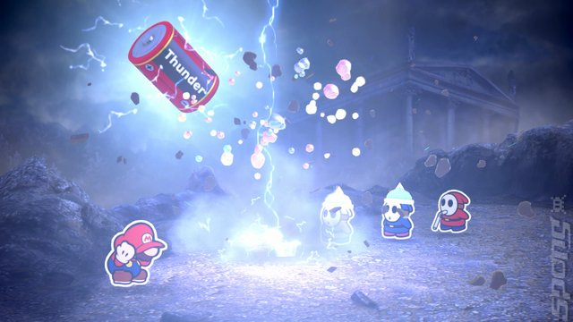 Games of the Year 2016: Paper Mario Colour Splash Editorial image