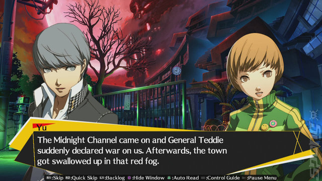 Persona 4 Arena: Ultimax - Xbox 360 Screen