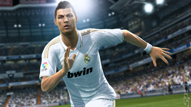 PES 2013 - Wii Screen
