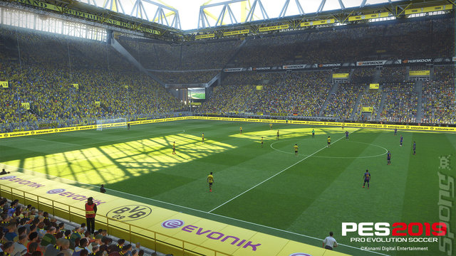 PES 2019 - Xbox One Screen