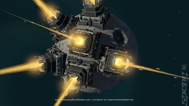 Planetary Annihilation - Mac Screen