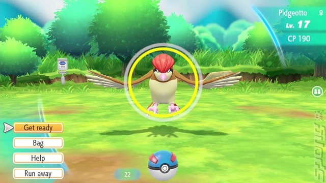 Pok�mon: Let's Go, Pikachu! - Switch Screen