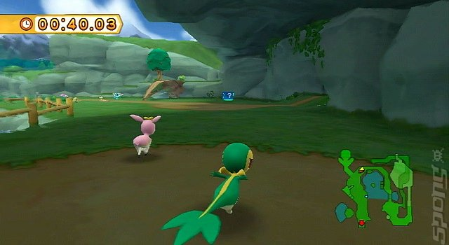 Pok�Park 2: Wonders Beyond - Wii Screen