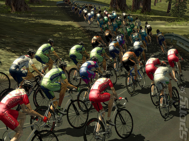 Pro Cycling Manager Season 2008 - PC Screen