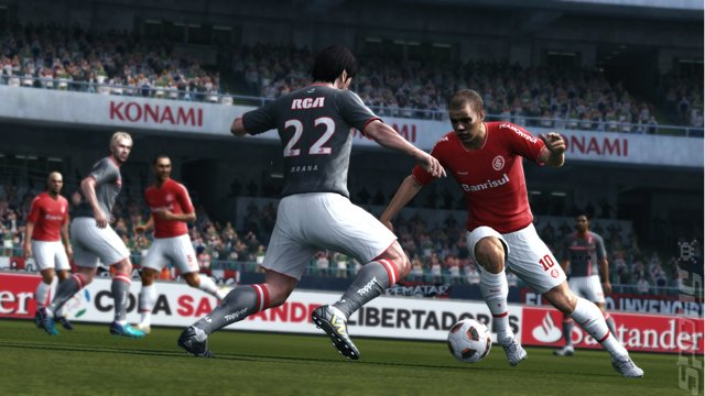 Pro Evolution Soccer 2012 - PS3 Screen