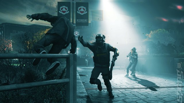 Quantum Break - Xbox One Screen