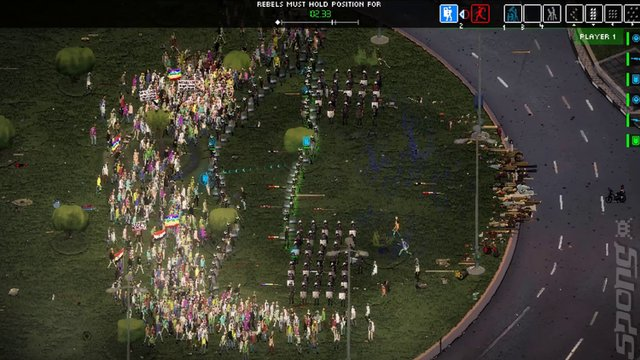 Riot: Civil Unrest - Switch Screen