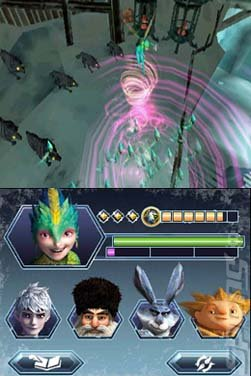 Rise of the Guardians - 3DS/2DS Screen