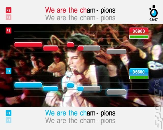 SingStar Queen - PS2 Screen