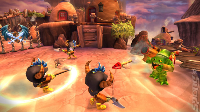 Skylanders: Giants - 3DS/2DS Screen