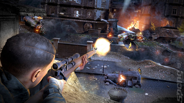Sniper Elite V2: Remastered - PS4 Screen