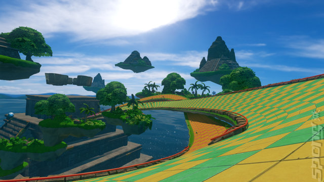 Sonic & All-Stars Racing Transformed - Wii U Screen