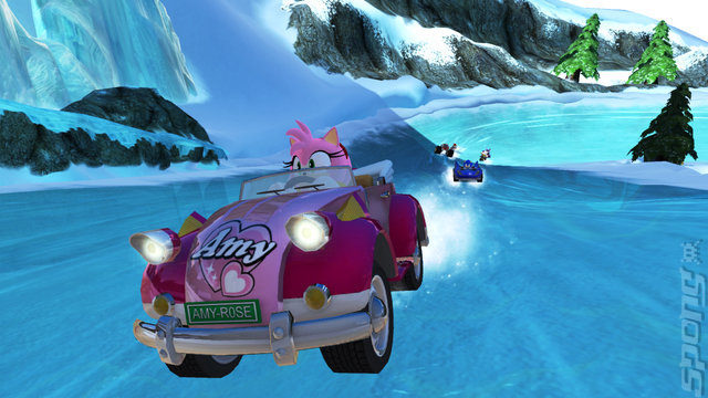 Sonic & SEGA All-Stars Racing - PC Screen