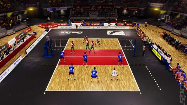 Spike Volleyball - Xbox One Screen
