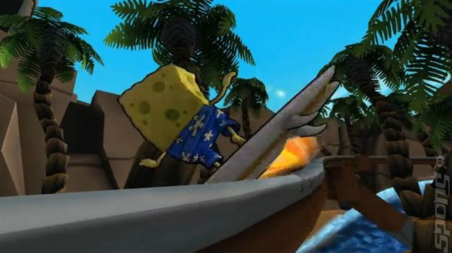 SpongeBob Squarepants: Surf & Skate Roadtrip - Xbox 360 Screen