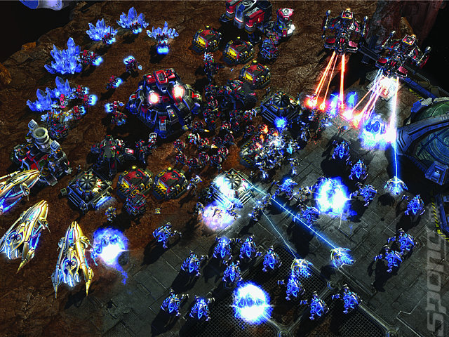 Starcraft II: Wings of Liberty - PC Screen