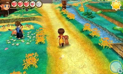 Story of Seasons: Trio of Towns - 3DS/2DS Screen