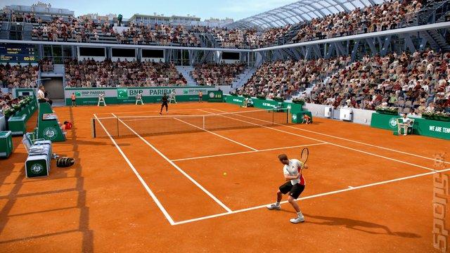 Tennis World Tour: Roland-Garros Edition - PS4 Screen