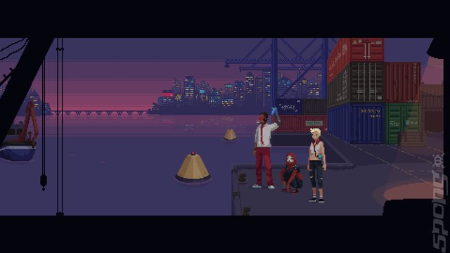 The Red Strings Club - PC Screen