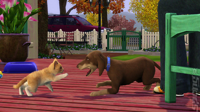 The Sims 3: Pets Screen (PC)