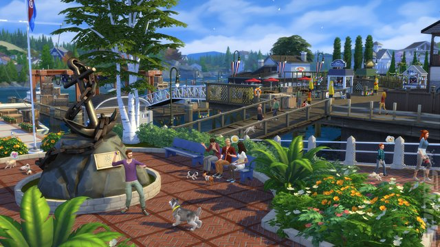 The Sims 4 Bundle: The Sims 4 + Cats & Dogs - PS4 Screen