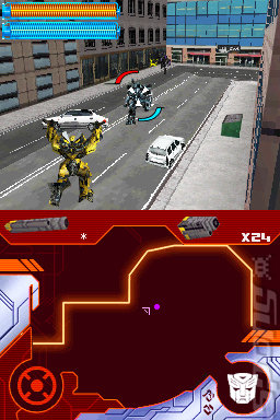 Transformers Ultimate Autobots Edition  - DS/DSi Screen