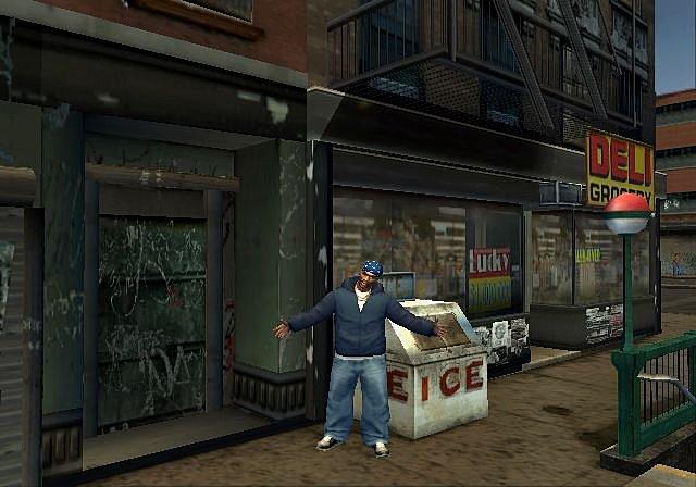 True Crime: New York City - PS2 Screen