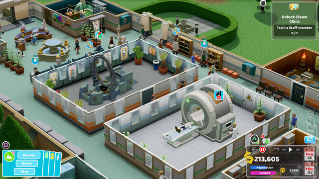 Two Point Hospital - PS4 Screen