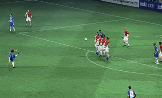 UEFA Champions League 2004/2005 - Xbox Screen