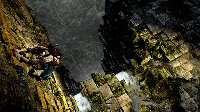 Uncharted Golden Abyss - PSVita Screen