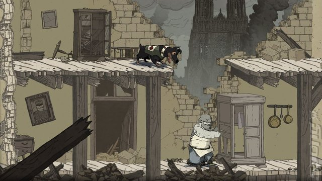 Valiant Hearts: the Great War - PS4 Screen