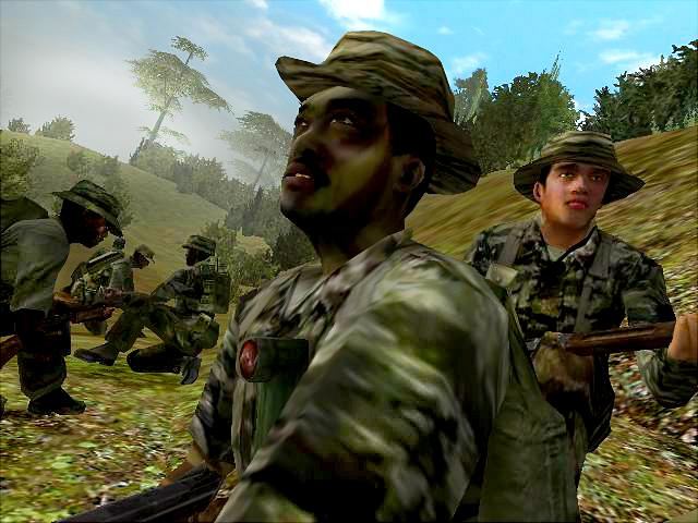 Vietcong: Purple Haze - Xbox Screen