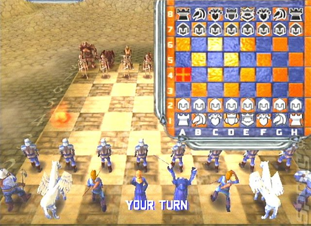 WarChess - PS2 Screen