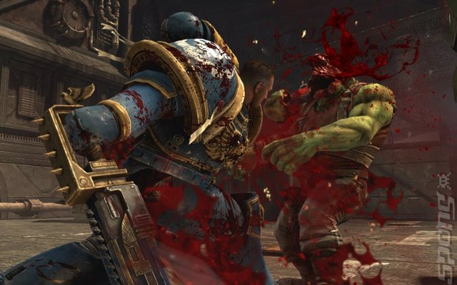 E3 The Games: Warhammer 40,000: Space Marine Editorial image