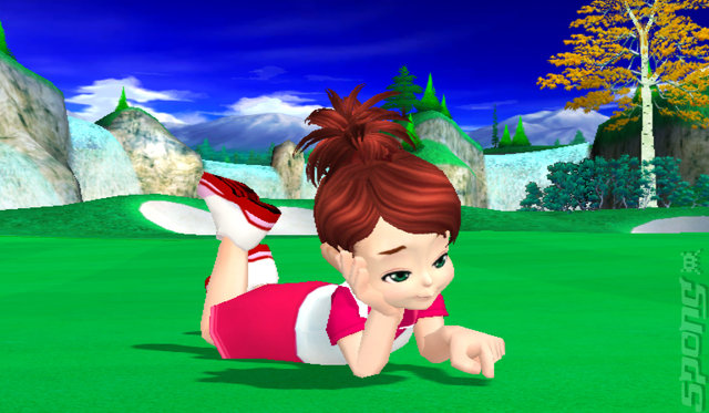 We Love Golf! - Wii Screen