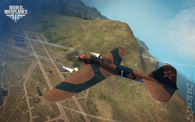 World of Warplanes - PC Screen