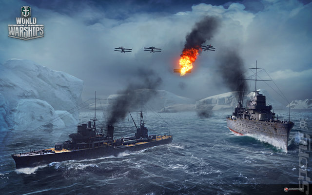 World of Warships - PC Screen