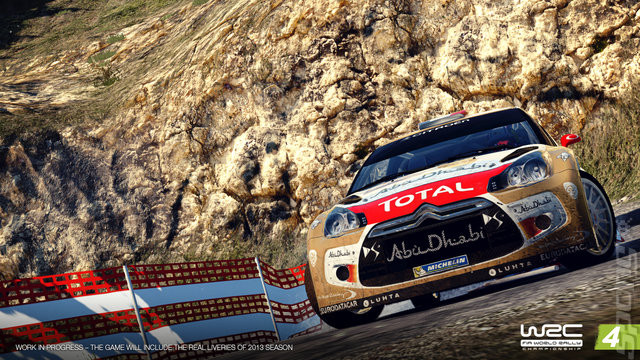 WRC: FIA World Rally Championship 4 - Xbox 360 Screen