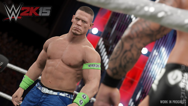 WWE 2K15 - Xbox 360 Screen