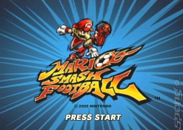 Mario Smash Football - GameCube Screen