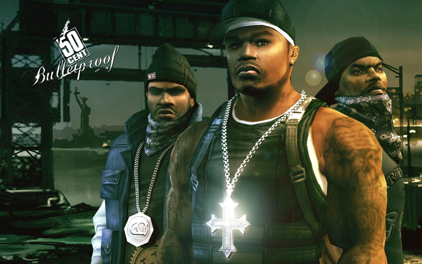 50 Cent: Bulletproof - PS2 Wallpaper