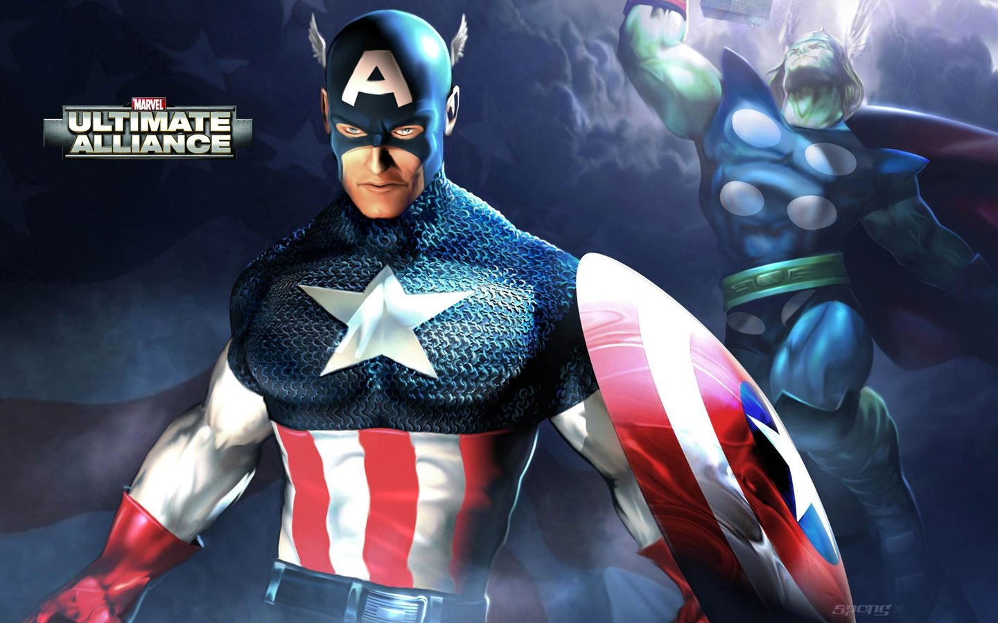 Wallpapers: Marvel: Ultimate Alliance - Xbox (1 of 2)
